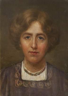 Mayor, Patti, 1872-1962; Self Portrait