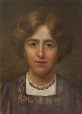 Mayor, Patti, 1872-1962; Self Portrait
